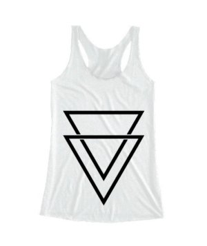 double triangles, Women's Tank Top