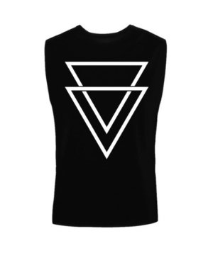 double triangles, Men's Sleeveless T-shirt