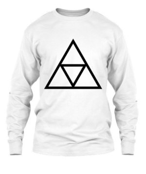 triple triangle, Men's Long Sleeves T-shirt