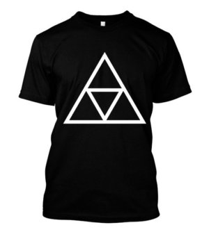 triple triangle, Men's Round T-shirt