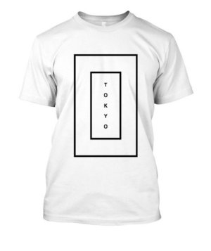 tokyo, Men's Round T-shirt