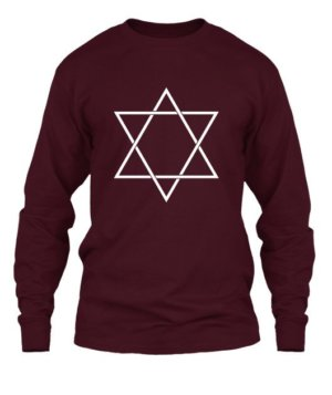 star triangle, Men's Long Sleeves T-shirt