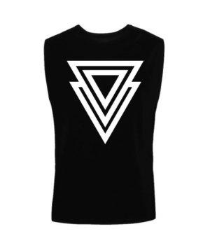 3d triangle, Men's Sleeveless T-shirt