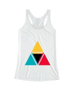 colorful triangles, Women's Tank Top