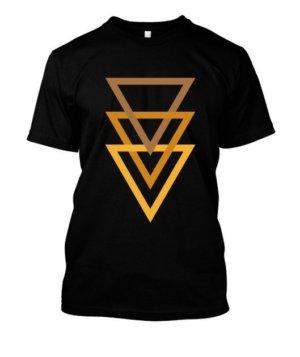 triangle minimal, Men's Round T-shirt