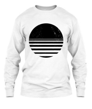 sliced circle, Men's Long Sleeves T-shirt