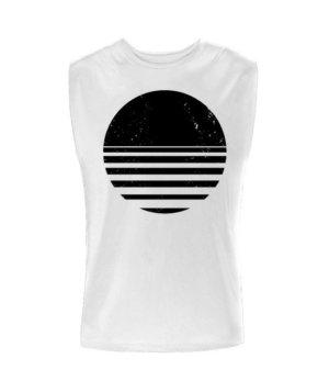 sliced circle, Men's Sleeveless T-shirt