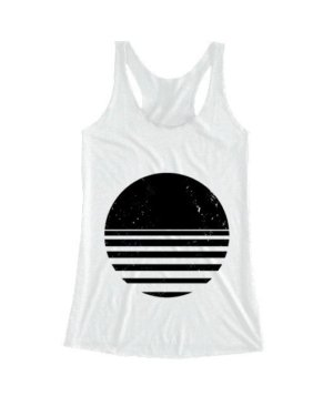 sliced circle, Women's Tank Top