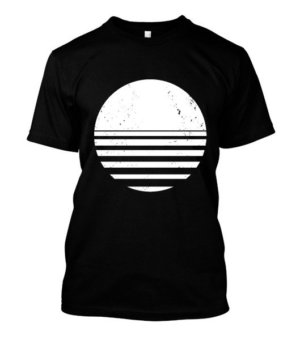sliced circle , Men's Long Sleeves T-shirt