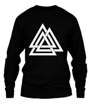 three triangle, Men's Long Sleeves T-shirt