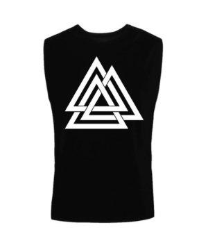 three triangle, Men's Sleeveless T-shirt