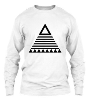 triangle tribal, Men's Long Sleeves T-shirt