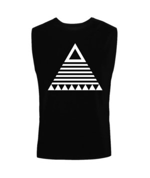 triangle tribal, Men's Sleeveless T-shirt