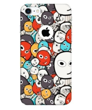doodle monster , Phone Cases