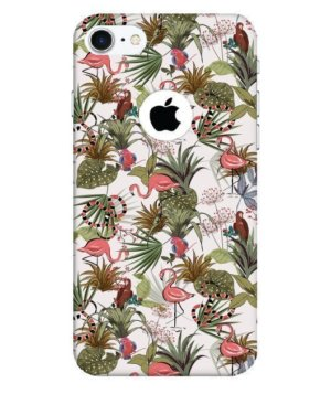Flamingo Floral Case, Phone Cases