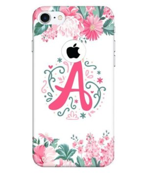 Floral Letter – A, Phone Cases