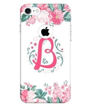 Floral Letter – B, Phone Cases