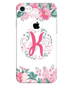 Floral Letter – K
