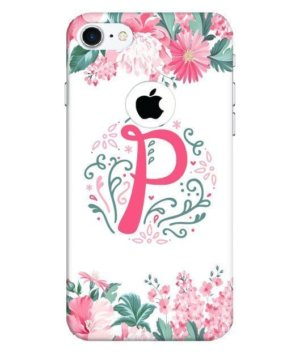 Floral Letter – P