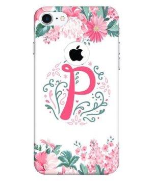 Floral Letter – P, Phone Cases