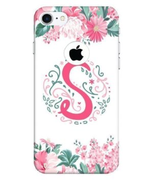 Floral Letter – S, Phone Cases