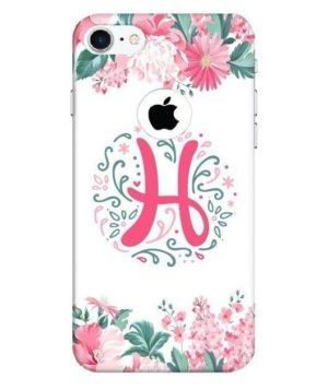 Floral Letter – H