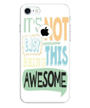 Not easy to be awesome, Phone Cases