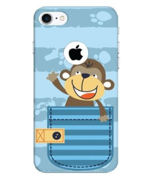 cute monkey, Phone Cases