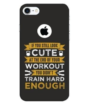 Funny gym quote, Phone Cases