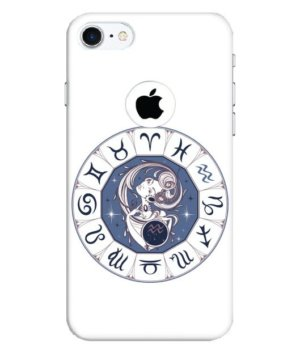Aquarius Zodiac Wheel, Phone Cases