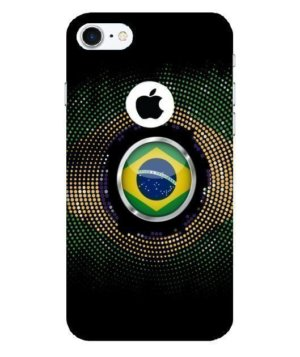 Brazil halftone flag, Phone Cases