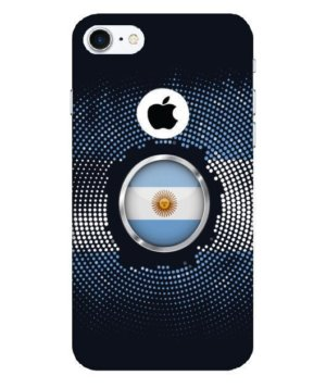 Argentina halftone flag, Phone Cases