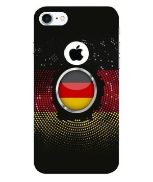 Germany halftone flag