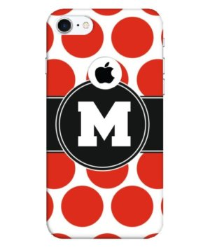 Custom Monogram Polka ,Phone Cases