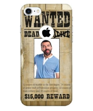 Funny Personalized Wanted Dead or Alive Cases, Phone Cases