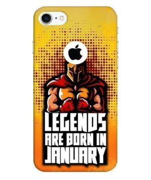 Legends are born in January,Phone Cases
