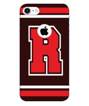 Sporty Monogram R Mobile Cover