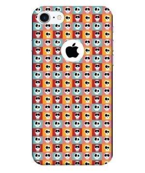 Funky Skull Seamless Pattern, Phone Cases