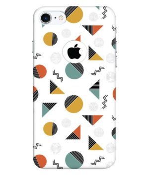 geometric slicing shapes, Phone Cases