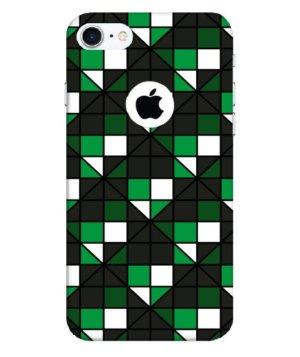 dark green squares, Phone Cases