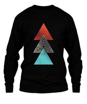 summer triangles, Men's Long Sleeves T-shirt