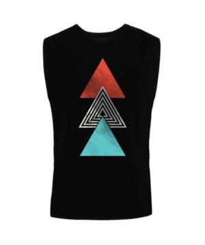 summer triangles, Men's Sleeveless T-shirt