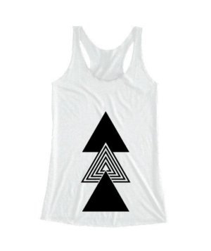 creative three triangles, Women's Tank Top