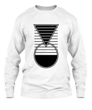 smarter geometry, Men's Long Sleeves T-shirt