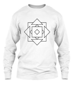 geo illusions , Men's Long Sleeves T-shirt