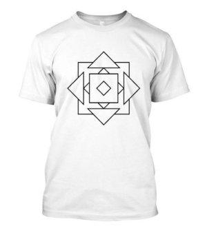 geo illusions , Men's Round T-shirt