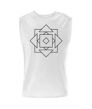 geo illusions , Men's Sleeveless T-shirt