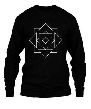illusion geo, Men's Long Sleeves T-shirt