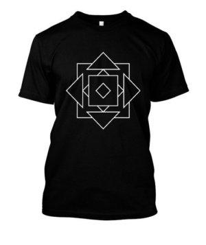 illusion geo, Men's Round T-shirt