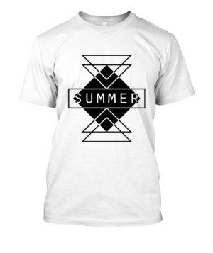 summer, Men's Round T-shirt